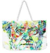 Richard Wagner Watercolor Portrait Weekender Tote Bag