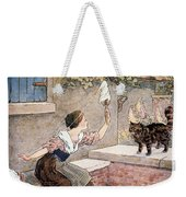 Richardson: Pussy Cat Weekender Tote Bag by Granger