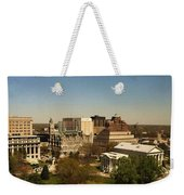 Richmond Virginia - Old And New Capitol Buildings Weekender Tote Bag