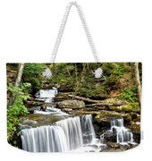 Ricketts Glen Delaware Falls Weekender Tote Bag