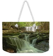 Ricketts Glen Waterfall Cascades Weekender Tote Bag