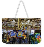 Ride A Painted Pony - Coney Island 2013 - Brooklyn - New York Weekender Tote Bag
