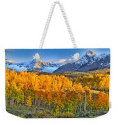 Ride Into The Color Weekender Tote Bag