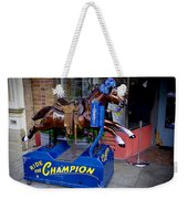 Ride The Champion Weekender Tote Bag