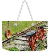 Ride The Rail Weekender Tote Bag