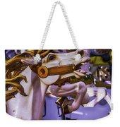 Ride The Wild Carrousel Horses Weekender Tote Bag