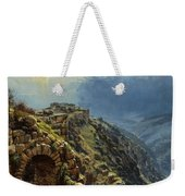 Rider On A White Horse Weekender Tote Bag