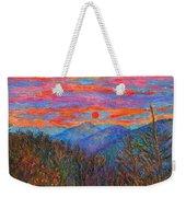 Ridgeland Winter Beauty Weekender Tote Bag