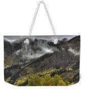 Ridges Of Fire Weekender Tote Bag