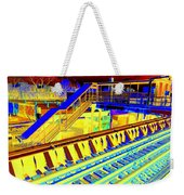Ridin The Rails Weekender Tote Bag