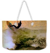 Riding High Weekender Tote Bag by Karen Wiles