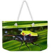 Riding Into Battle Weekender Tote Bag