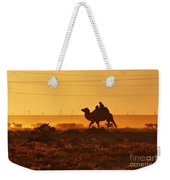 Riding Into The Sunset Weekender Tote Bag