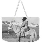 Riding Lesson Weekender Tote Bag