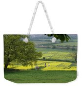 Riding On Chosen Hill Weekender Tote Bag