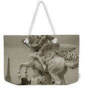 Riding Pegasis Weekender Tote Bag