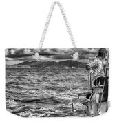 Riding The Crest Of The Wave Weekender Tote Bag