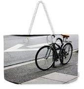 Riding Uptown Weekender Tote Bag