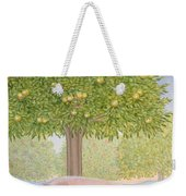 Right Hand Orchard Pig Weekender Tote Bag