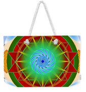 Right On Time For Christmas Weekender Tote Bag