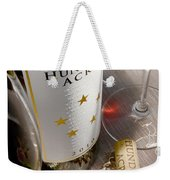 Right Place Right Time Weekender Tote Bag