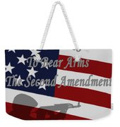 Right To Bear Arms Weekender Tote Bag