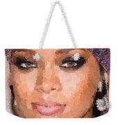 Rihanna Portrait Weekender Tote Bag
