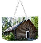 Rika's Barn In Big Delta Historical Park-ak  Weekender Tote Bag