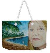 Rincon Girl Weekender Tote Bag by Frank Hunter