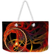 Ring Of Fire Weekender Tote Bag by Andee Design