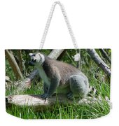 Ring Tailed Lemur Weekender Tote Bag