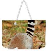 Ring-tailed Lemur Lemur Catta Walking Weekender Tote Bag
