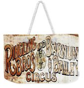 Ringling Brothers And Barnum And Bailey Circus Weekender Tote Bag