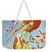 Ringneck Pheasants Weekender Tote Bag