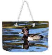 Rings Around Ring-necked Duck Weekender Tote Bag