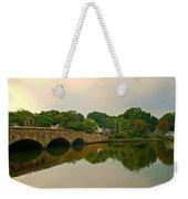 Rings End Bridge Weekender Tote Bag