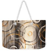 Rings Of Gold Abstract Painting Weekender Tote Bag