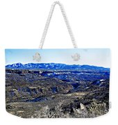 Rio Grande River Canyon-arizona Weekender Tote Bag