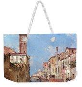 Rio St Barnaba Venice Weekender Tote Bag