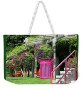 Riotous Resting Place Weekender Tote Bag