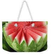 Ripe Watermelon Weekender Tote Bag