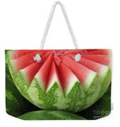 Ripe Watermelon Weekender Tote Bag