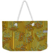 Rippled Dice Abstract Weekender Tote Bag