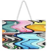 Rippled Weekender Tote Bag