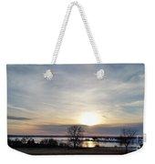 Rippled Sunset Weekender Tote Bag
