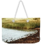 Rippled Water Rippled Reeds Weekender Tote Bag
