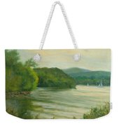 Ripples At Garrison Landing Weekender Tote Bag
