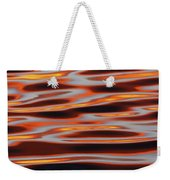 Ripples At Sunset Weekender Tote Bag