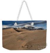 Ripples Dunes And Clouds Weekender Tote Bag