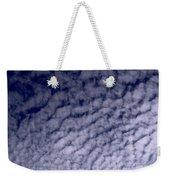 Ripples In The Dark Blue Sky Weekender Tote Bag